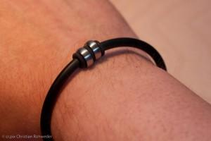 Mein YuKoN Armband nach 2 Wochen.