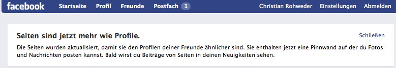 facebook und Deusch.
